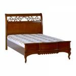 Кровать 1200 прям + дерево