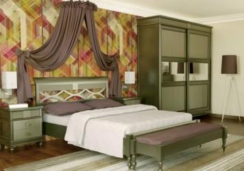 Румынская мебель для спальни Мария Сильва (Maria Silva), Monte Cristo Mobili