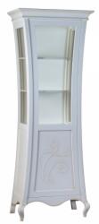 Витрина 1 дверь с полками из стекла