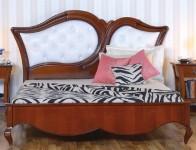 Кровать 160 мягкое изголовье с пуговицами