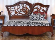 Кровать 160 резное изголовье