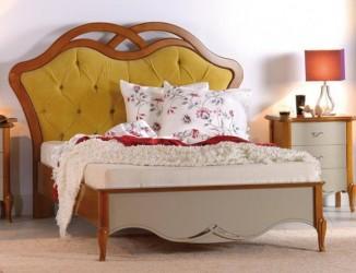 Кровать 120 изголовье ткань