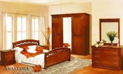 Румынская мебель для спальни Анастасия (Anastasia), Mobex