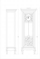 Часы с механизмом