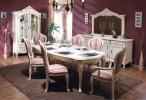 Румынский обеденный стол и стулья Клеопатра (Cleopatra), Simex
