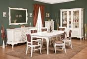 Румынский обеденный стол и стулья Кора (Cora), Simex