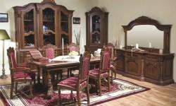Румынский обеденный стол и стулья Кристина (Cristina), Simex