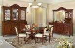 Румынский обеденный стол и стулья Могадор (Mogador), Mobex