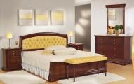 Румынская мебель для спальни Элеганс Орех (Elegance Nuc), Mobex