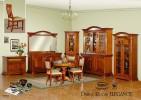 Румынский обеденный стол и стулья Элеганс (Elegance), Mobex