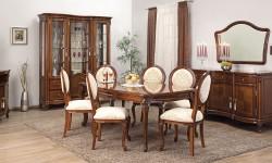 Румынский обеденный стол и стулья Фирензе (Firenze), Simex