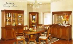 Румынский обеденный стол и стулья Жасмин (Jasmin), Mobex