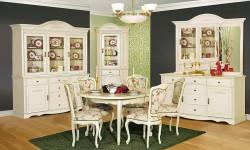 Румынский обеденный стол и стулья Анна (Anna), Mobex