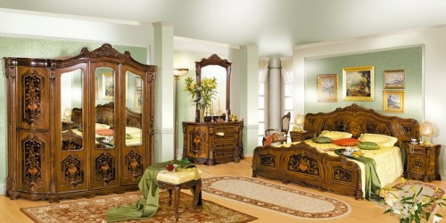 Румынская мебель для спальни Юлиана (Iuliana), Mobex