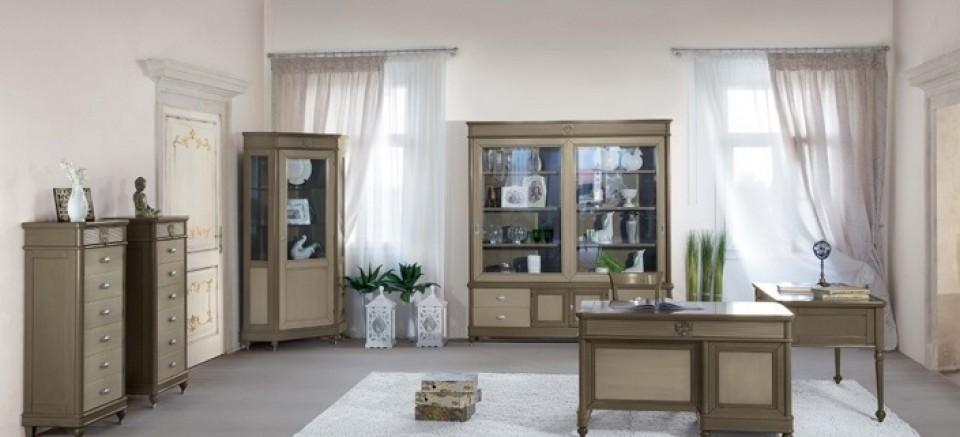 Румынская мебель для рабочего кабинета Мария Сильва (Maria Silva), Бурбон (Bourbon), Monte Cristo Mobili
