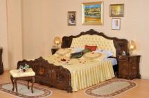 Кровать 1800 обитая спинка