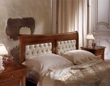 Кровать 160 изголовье кожа