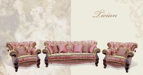 Румынская мягкая мебель Тициан (Tician), Prokess