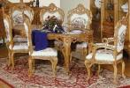 Румынский обеденный стол и стулья Л.Л. (L.L.), Mobex