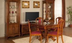 Румынский обеденный стол и стулья Контесса (Contessa), Simex