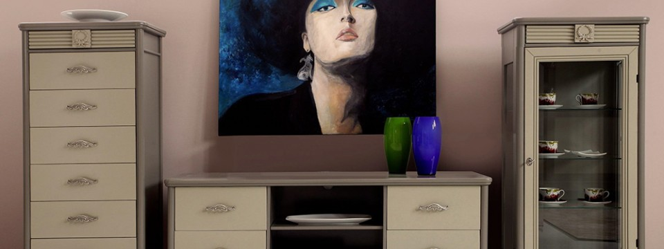 Румынская мебель для ТВ Мария Сильва (Maria Silva), Бурбон (Bourbon), Monte Cristo Mobili