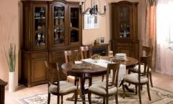 Румынский обеденный стол и стулья Рафаэл (Rafael), Simex
