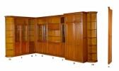 Румынская мебель для рабочего кабинета Романтик Люкс М (Romantique Lux M), Mobex