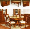 Румынский обеденный стол и стулья Романтик Люкс М (Romantique Lux M), Mobex