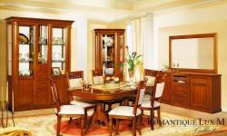 Румынская мебель для гостиной Романтик Люкс М (Romantique Lux M), Mobex