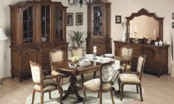 Румынский обеденный стол и стулья Роял (Royal), Simex