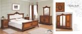 Румынская мебель для спальни София Голд (Sofia Gold), Nord Simex