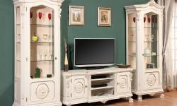 Румынская мебель для ТВ София Голд (Sofia Gold), Nord Simex