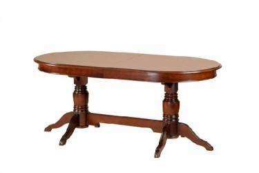 Стол овальный на 2 ногах 1800/3300