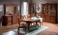 Румынский обеденный стол и стулья Венеция (Venetia), Simex